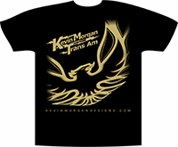 Kevin Morgan Trans Am T-shirt 2017